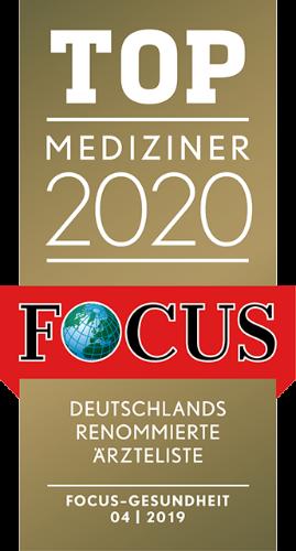 Focus Top Mediziner 2020, Dr. Pontius, Bad Homburg